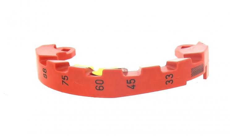 Disque crantée pour réglage de hauteur de coupe Tondeuse - Ref 42067 - Outils Wolf