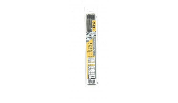 Lot de 50 Electrodes pour Soudure Rutile Acier Ø 3,2 mm - Ref 084445 - GYS