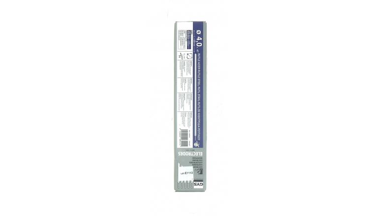 Lot de 47 Electrodes pour Soudure Rutile Acier Ø 4.0 mm - Ref 085152 - GYS
