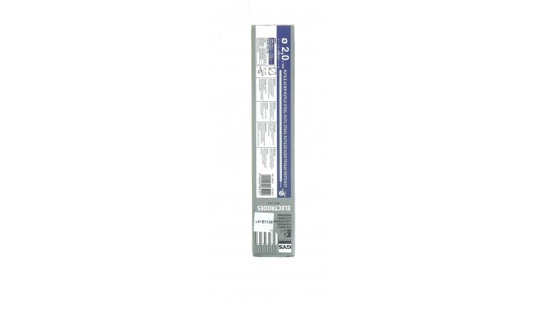 Lot de 155 Electrodes pour Soudure Rutile Acier Ø 2,0 mm - Ref 085121 - GYS