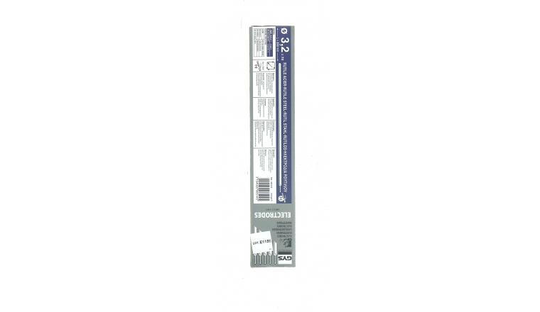 Lot de 70 Electrodes pour Soudure Rutile Acier Ø 3.2 mm - Ref 085145 - GYS