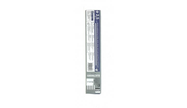 Lot de 110 Electrodes pour Soudure Rutile Acier Ø 2,5 mm - Ref 085138 - GYS
