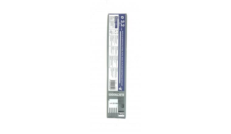 Lot de 165 Electrodes pour Soudure Rutile Acier Ø 3.2 mm - Ref 085046 - GYS