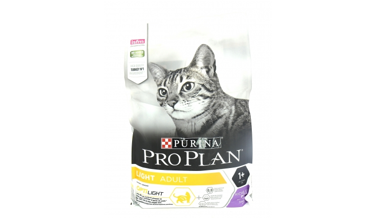 Croquettes Chat Pro Plan Adult Light Dinde - 3kg - Nestle Purina