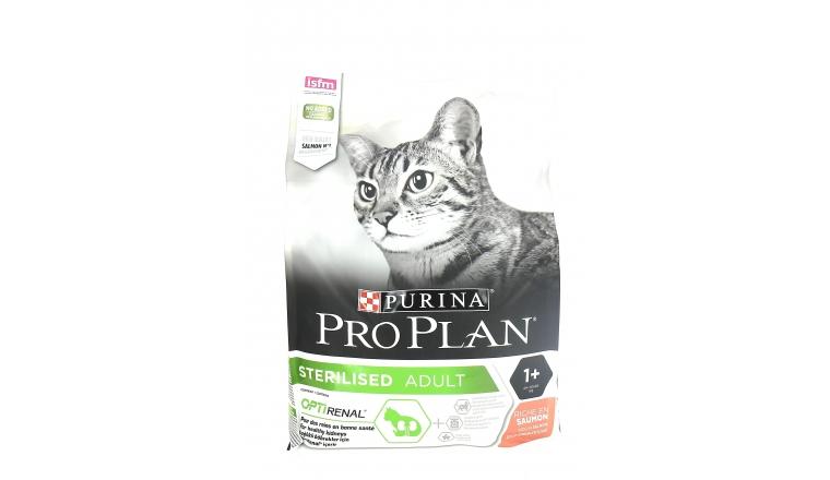 Croquettes Pro Plan Adult Chat Stérilisé au Saumon - 3kg - Nestlé Purina