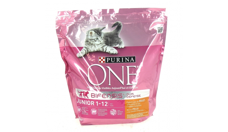 Croquettes Chaton Purina One Junior 1-12 mois Poulet - 1,5kg + Nestlé Purina