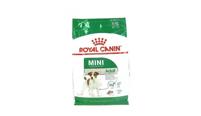 Croquettes Chien Adulte Mini de 10 mois à 8 ans - 8kg - Royal Canin