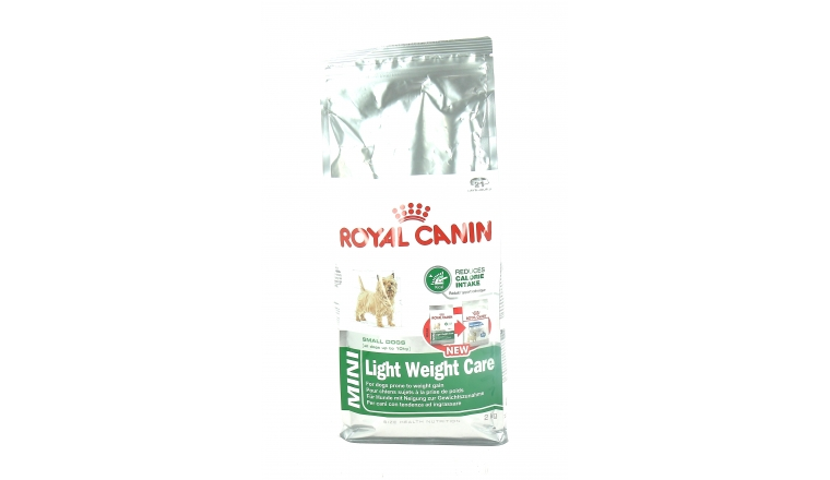 Croquettes Light Chien Adulte Mini Dès 10 mois - 2kg- Royal Canin
