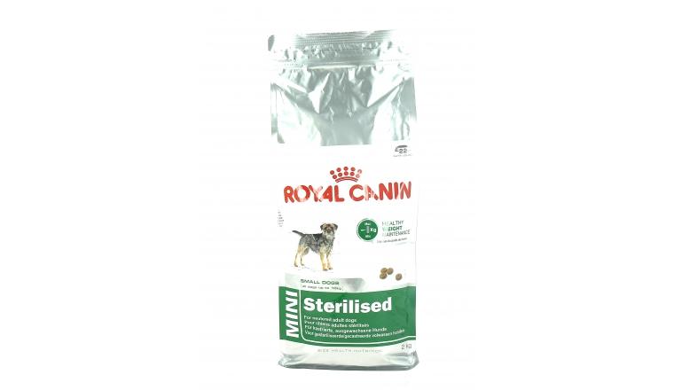 Croquettes Chien Adulte Mini Stérilisé  -2kg- Royal Canin