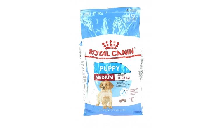 Croquettes Médium Puppy - chiot 2 à 12 mois - Royal Canin 4kg