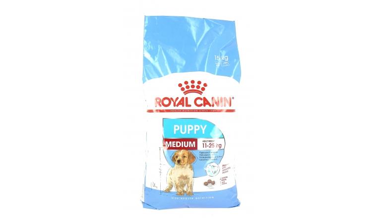 Croquettes Médium Puppy - chiot 2 à 12 mois - Royal Canin - 15kg