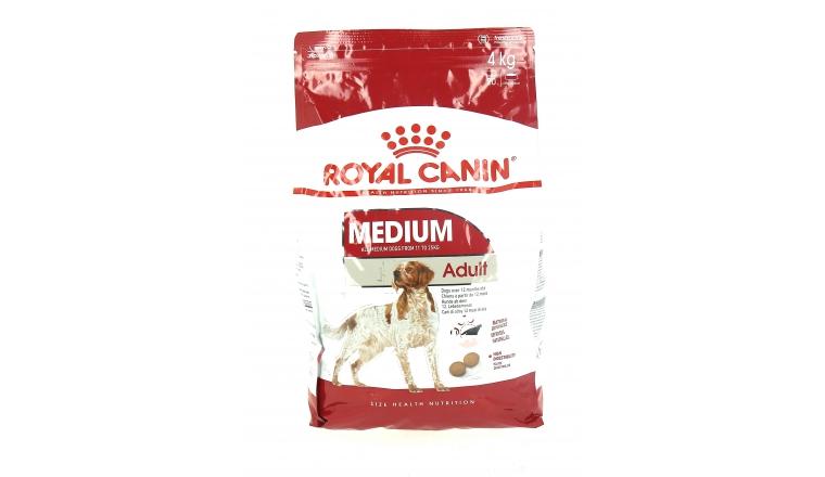 Croquettes Chien Adulte Médium 4kg Royal Canin