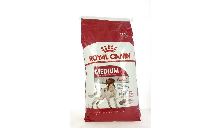 Croquettes Chien Medium Adult dès 12 mois - Royal Canin - 15kg