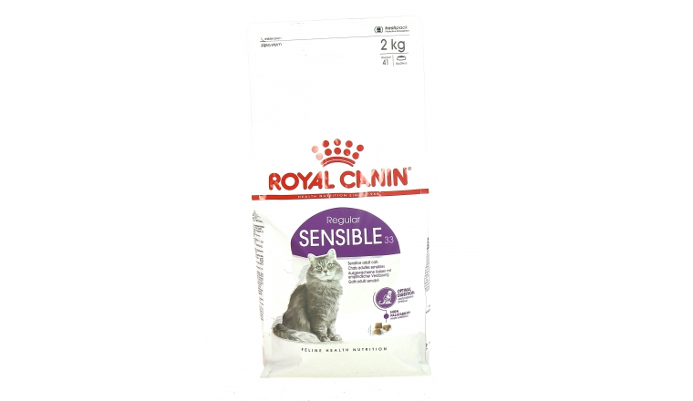 Croquettes Chat Adulte Sensible 33 - Royal Canin - 2kg