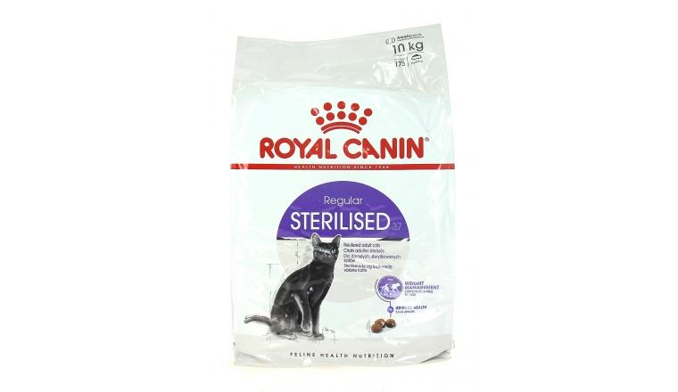 Croquettes Chat Stérilisé Sterilised 37 Royal Canin Sachet de 10 kg
