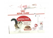 Sachets en sauce  pour Chat Adulte Instinctive Royal Canin 12x85gr