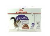 Sachets en sauce Chat Adulte Stérilisé Royal Canin 12x85 gr