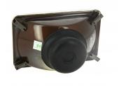 Optique de Phare Avant H4 Gauche et Droite pour IH - 165 x 106 mm Rectangle