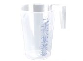 Broc Mesureur Transparent Graduation en relief - 1 Litre - Pressol