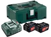 Coffret de 2 batteries Li Power 5,2Ah 18V Metabo
