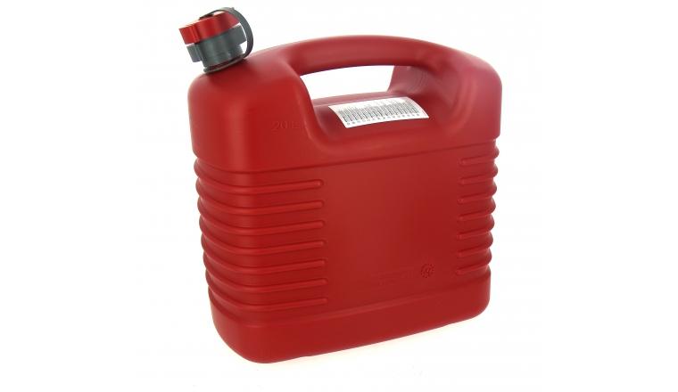 Jerrican Hydrocarbure Polyéthylène avec Bec Flexible 20 Litres - Pressol -