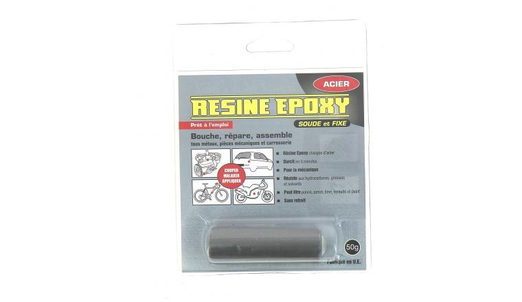 Résine Epoxy 50gr Réparation Rapide Acier Pressol