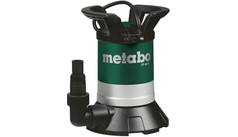 Pompe Immergée Pour Eaux Claires Metabo TP6600