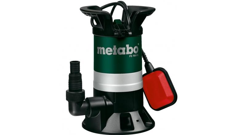 Pompe Immergée pour eaux usées Metabo PS 7500 S