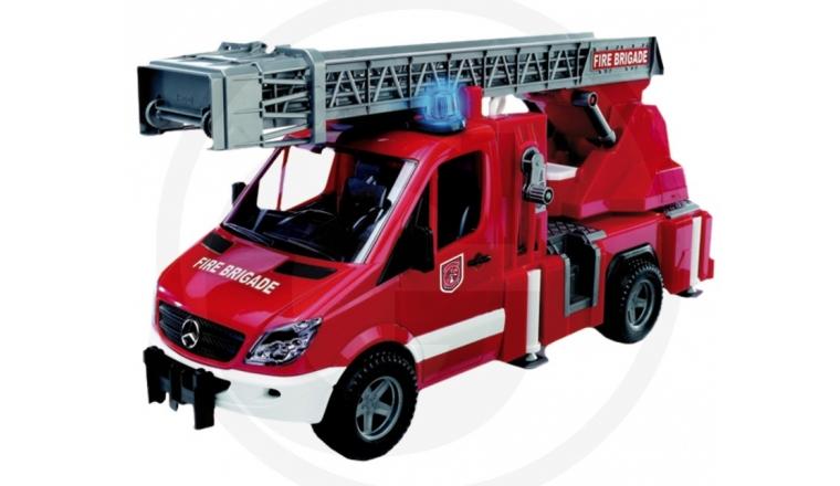 Camion de Pompier avec sa grande échelle pivotante - Brucer 2532