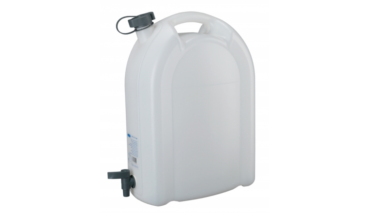Jerrican Usage Alimentaire 20 Litres + Robinet Alimentation - Pressol