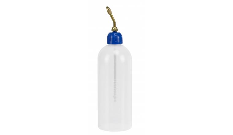 Burette Translucide 500 ml Bec Laiton Pressol