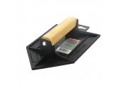 Taloche Pointue en Plastique Noir - 20x13 - Taliaplast