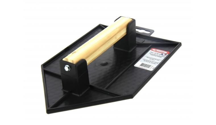 Taloche Pointue Plastique Noir  27x18 cm - Taliaplast