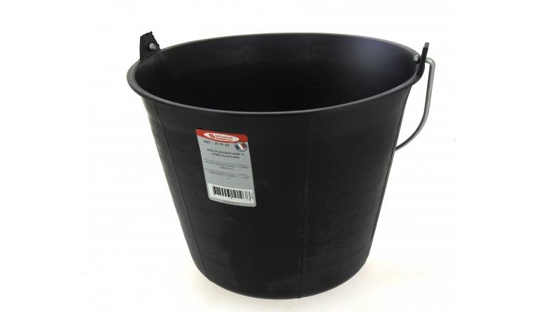 Seau Gradué 11 litres Noir - Taliaplast