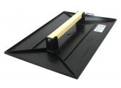 Taloche Plastique Rectangulaire 42x28 cm - Manche Bois - Taliaplast