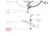 Vis de fixation Lame pour Tondeuse NS et NSF - Ref 6181 - Outils Wolf