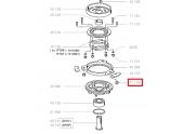 Ecrou Frein Diamètre 8 au pas de 125 pour RTRF et RTKF - Ref 71176 - Outils Wolf