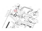Levier de Crochet de Guidon pour Tondeuse RM53H, NTCB1/98 .. - Ref 41532 - Outils Wolf