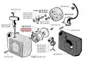 Support de fixation pour Ressort de rappel Débroussailleuse RS - Ref 502 09 68-01 - Husqvarna