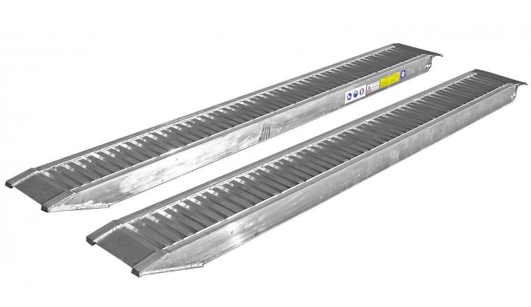 Rampes aluminium x2 2m95x0,30m 3700kg Lider