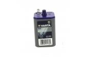 Pile 430 4R25X contact à ressort 6 volts Varta