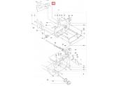 Plaque de Guidage pour 353, CS2153, 346 ... - Ref 537 40 56 01 - Husqvarna