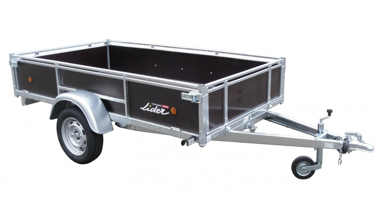 Remorque Bois 2m50 simple essieu 500kg 39460 Lider
