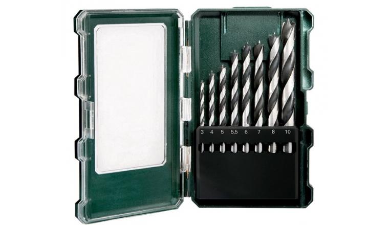 Coffret de forets bois  8 pièces 6.26705 Metabo