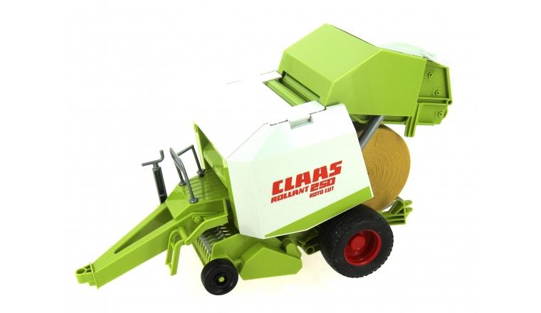 Presse à balles Rondes Claas Rollant 250 Roto Cut - Burder 2121
