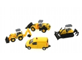Pack de 4 véhicules Travaux Publics NO311777