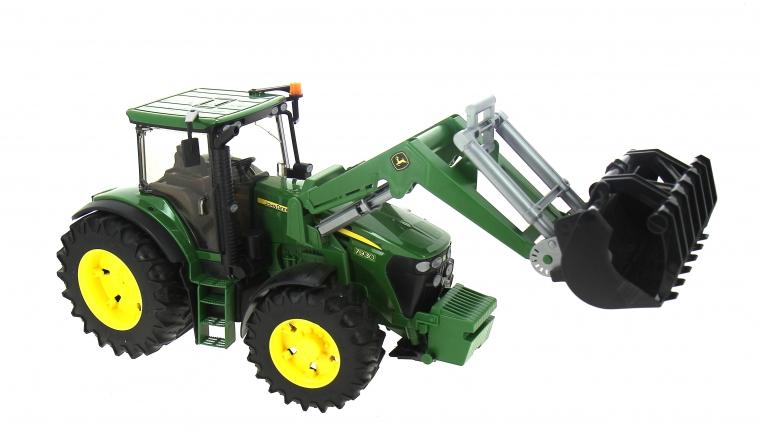 Tracteur John Deere 7930 avec Chargeur - Bruder 3051