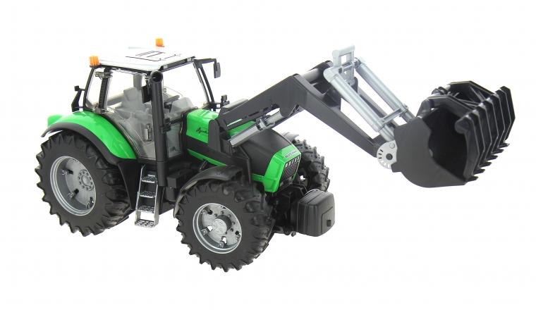 Tracteur Deutz Agrotron X720 avec Chargeur - Bruder 3081