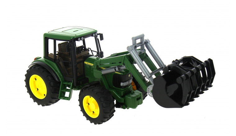 Tracteur John Deere 6920 avec Chargeur - Bruder 2052