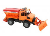 Camion Chasse Neige Unimog - Bruder 2572